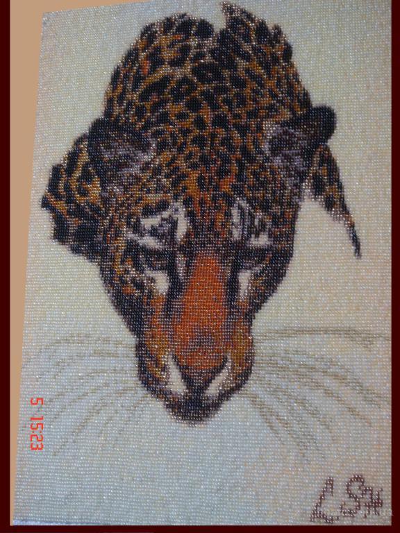 Страна мастеров.  Автор. lola-romashka.  Техника изготовления: ткание картин бисером, ручная работа.