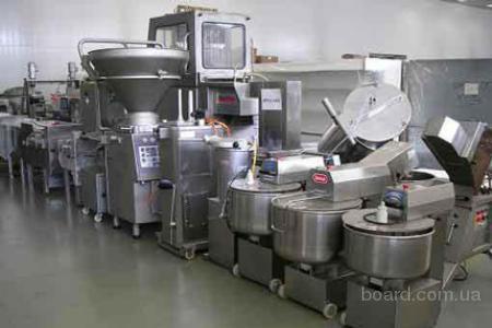 Оборудование для колбасных цехов, для убоя.