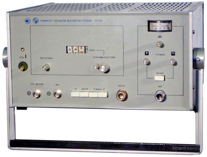 Генератор сигналов высокочастотный Г4-144.
