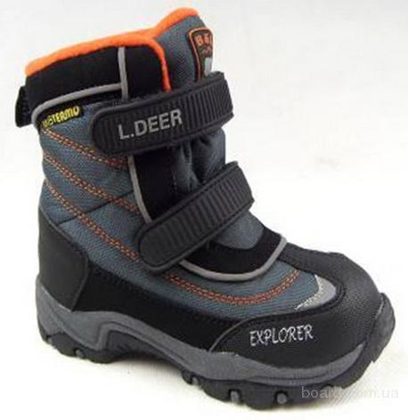 Зимняя детская термо обувь от Little Deer