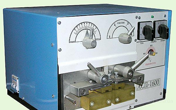 Аппарат сварочный для ленточных пил
