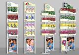 POS материалы, рекламные стойки для торговых точек