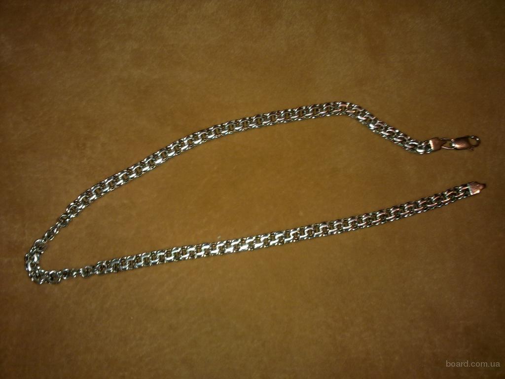 Стоимость серебряной цепочки мужской на шею