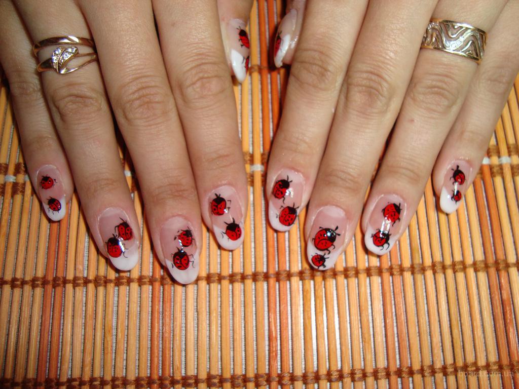 Рисунки на ногтях для беременных фото 50