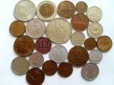 Монеты СССР (48 шт) 1949-1991гг.,монеты разных стран 1949-1997гг.,жетоны метрополитена