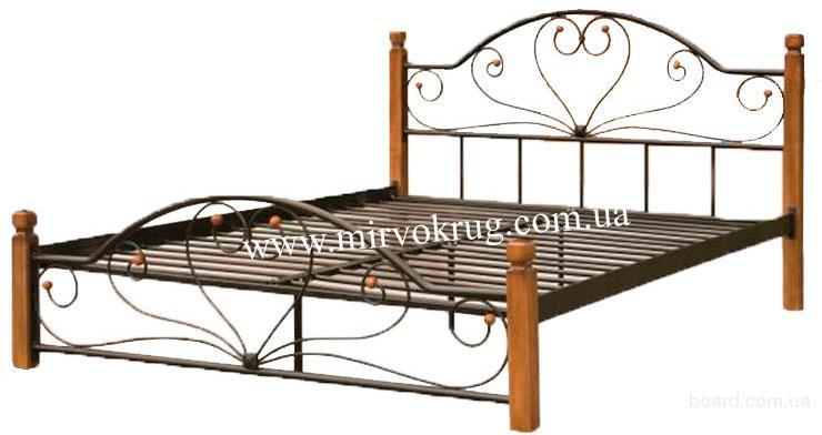 Металлическая кровать Джаконда