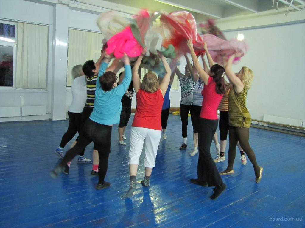 Группа здоровья для тех, кому за 40 и кому за 50 : гимнастика и танцы (обучение), фитнес. Киев