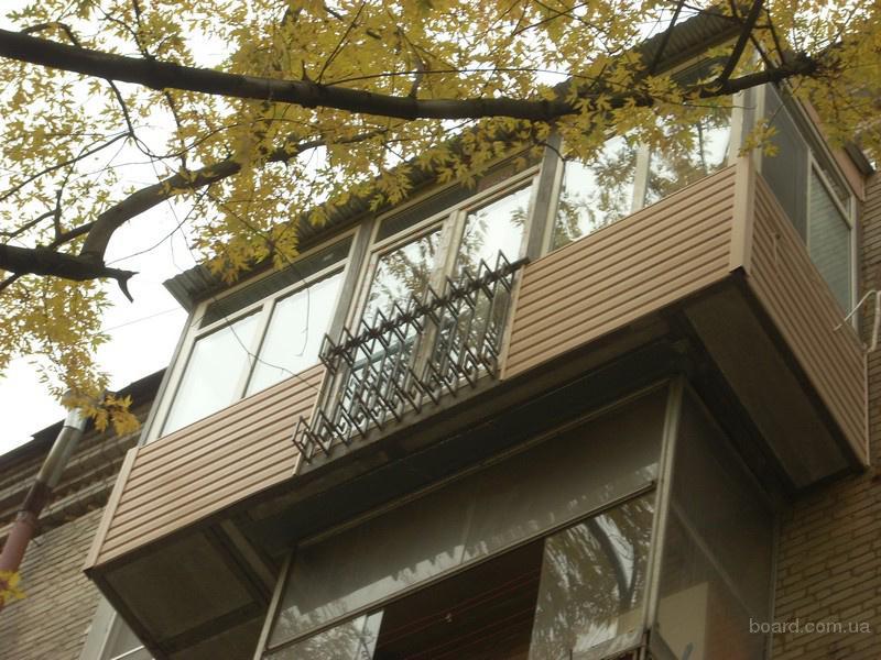 Строительство и реконструкция балконов. под ключ. предлагаю .