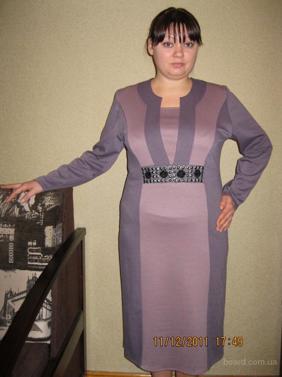 продам : Платья и кофты для пышных дам из французского трикотажа.
