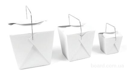 Бумажные боксы, бумажные одноразовые ланч боксы - продам. Цена 1 ...