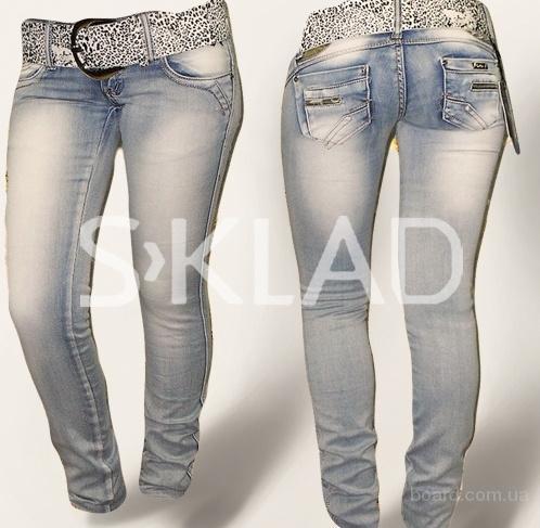 Стрейчевые джинсы с доставкой