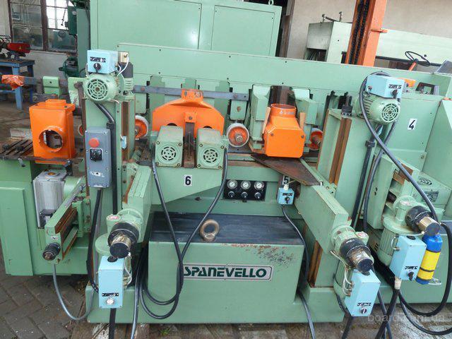 Четырехсторонник  SPANEVELLO модель SC-187 Special  с ЧПУ   для высококачественого профилирования