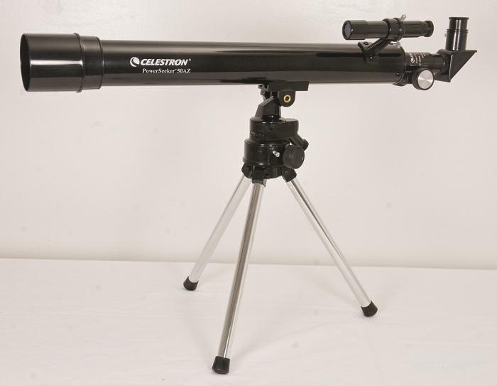 Телескоп рефрактор для начинающих Celestron Power Seeker TT 50 AZ