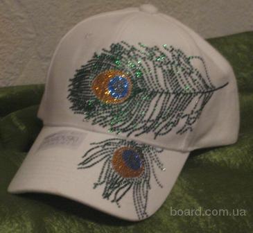 Сияющие кепки с кристаллами от Сваровски!