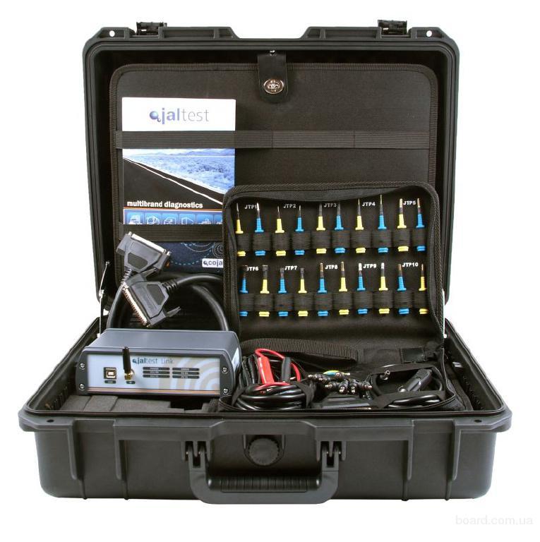 JalTest - русифицированный мультимарочный сканер для диагностики электрических, электронных, гидравлических и...