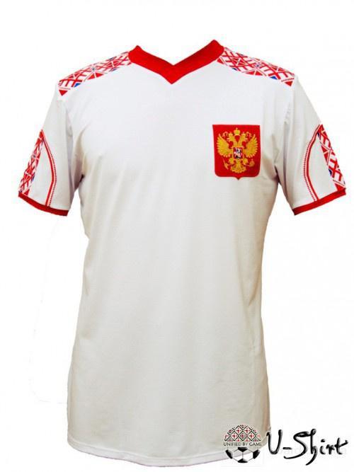 футболка с элементами Вышивки (Евро-2012.