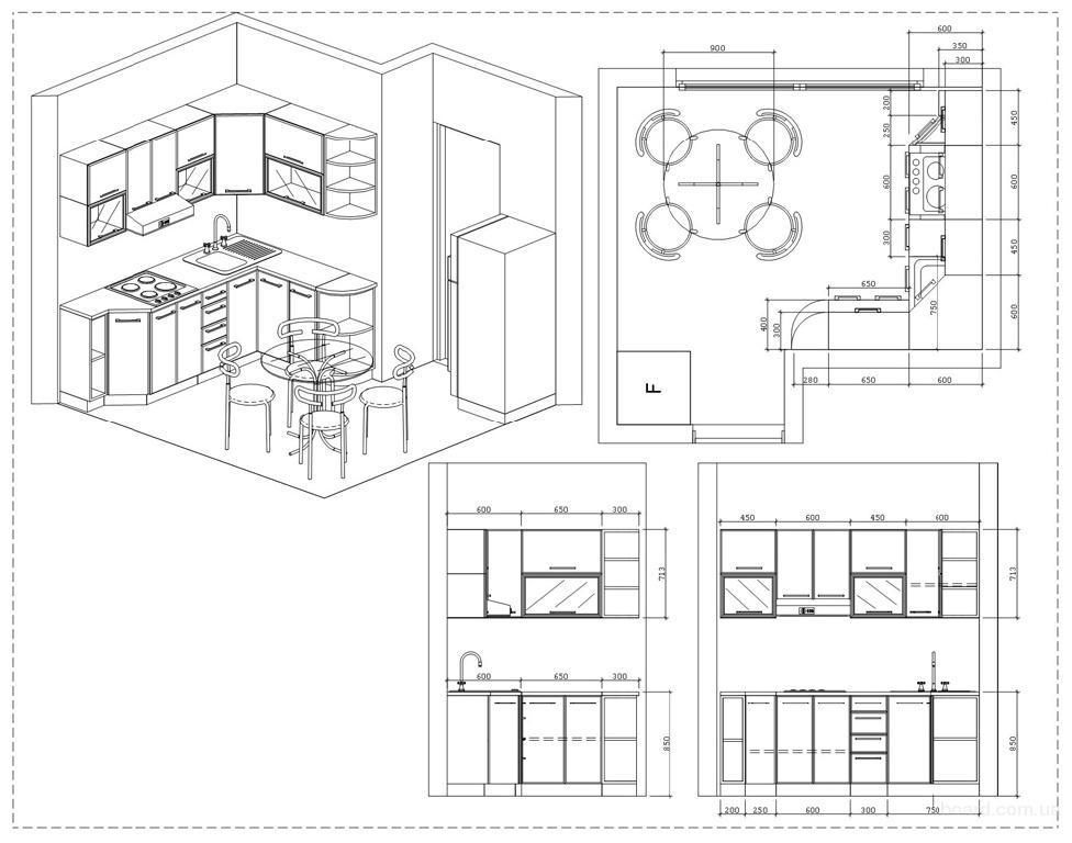 чертежи корпусной мебели и