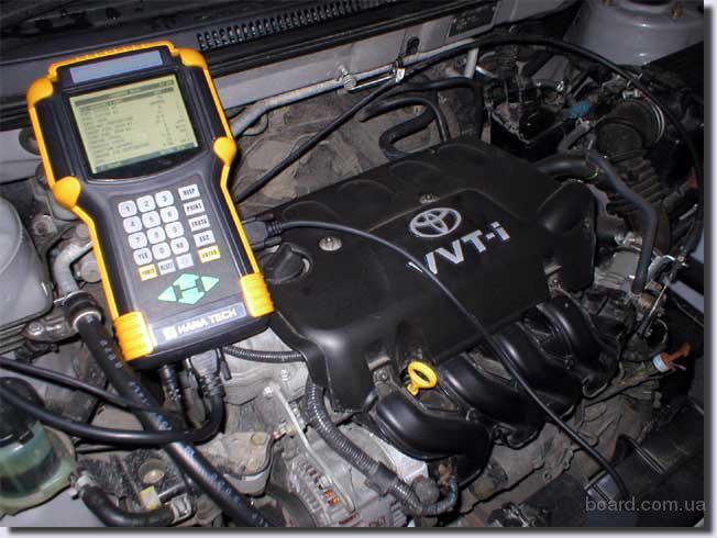 ...автосканер для работы с электрооборудованием легковых автомобилей.