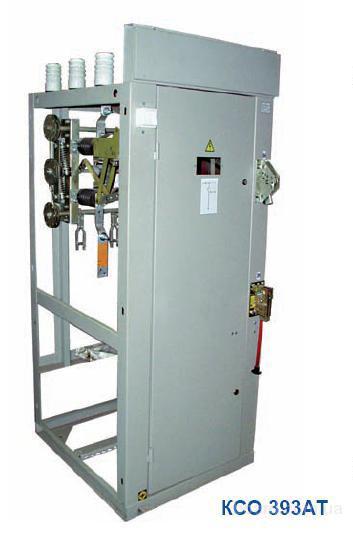...50 Гц систем с изолированной нейтралью.Камеры КСО-393 устанавливаются в закрытых помещениях трансформаторных...