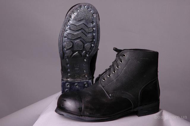 Ботинки юфтевые с метноском