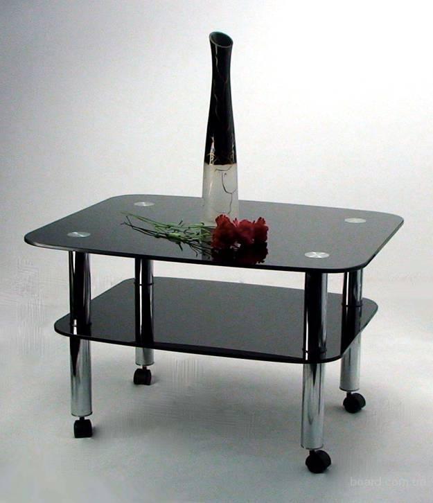 Стол журнальный на колесиках, столик журнальный, столы