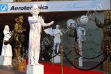 Живые статуи - изюминка праздника