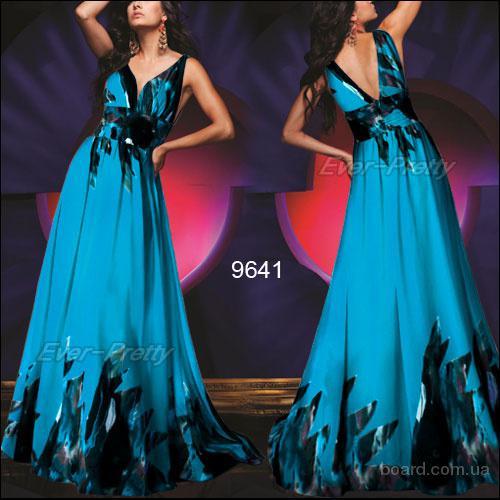 Модные длинные платья
