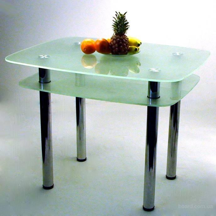 Стеклянный кухонный стол Maximum Maxi Dt dx 1000/800