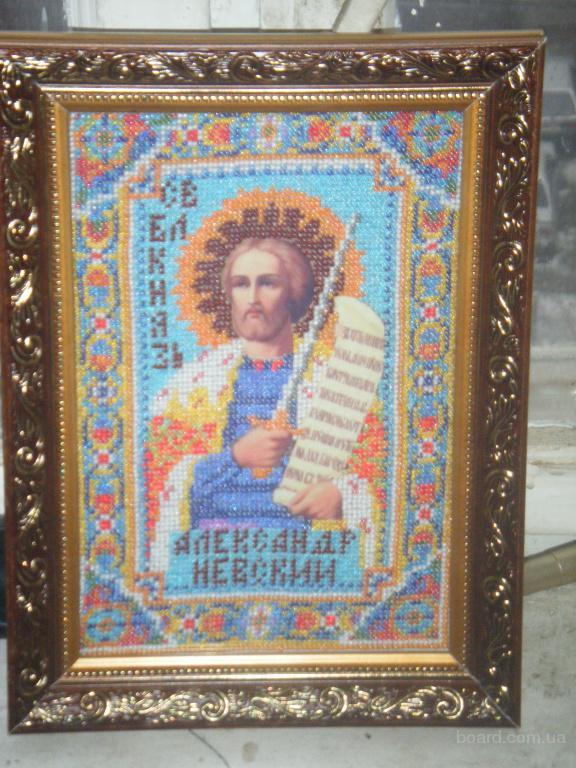 иконы вышитые бисером продам в Киев, Украина. цена 500 грн. (купить, куплю) - Предметы интерьера на...