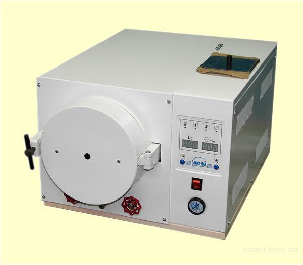 Стерилизаторы паровые ГК-10, ГК-20 новые модели с автоматикой