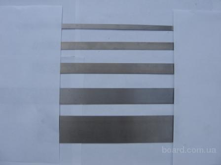 Пружинная каленая лента У8А, 65Г по ГОСТ 21996-76