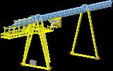 Краны мостовые опорные, подвесные от завода «ДимАл»