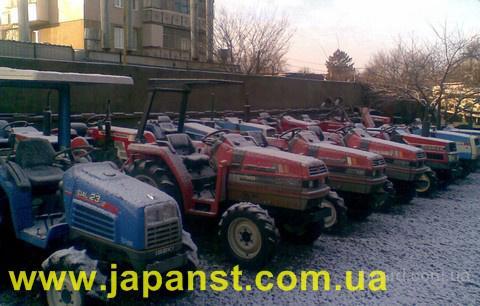 Мини тракторы .  Б/У , Япония.