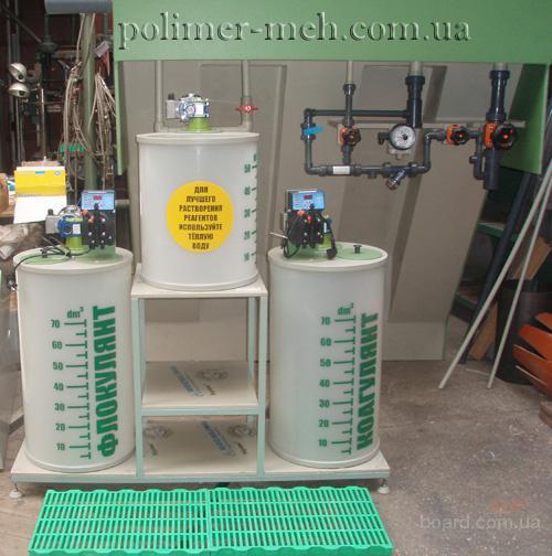 Флотаторы напорные и системы очистки сточных вод