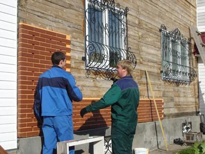 Применение металлического сайдинга в наружной отделке дома.
