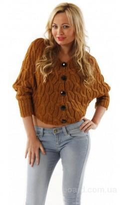 Короткий свитер  на пуговичках