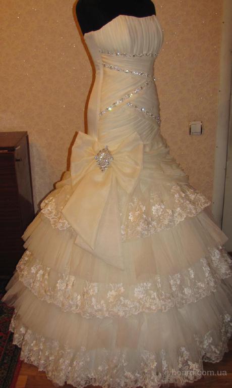 Платье цвета айвори фото 11