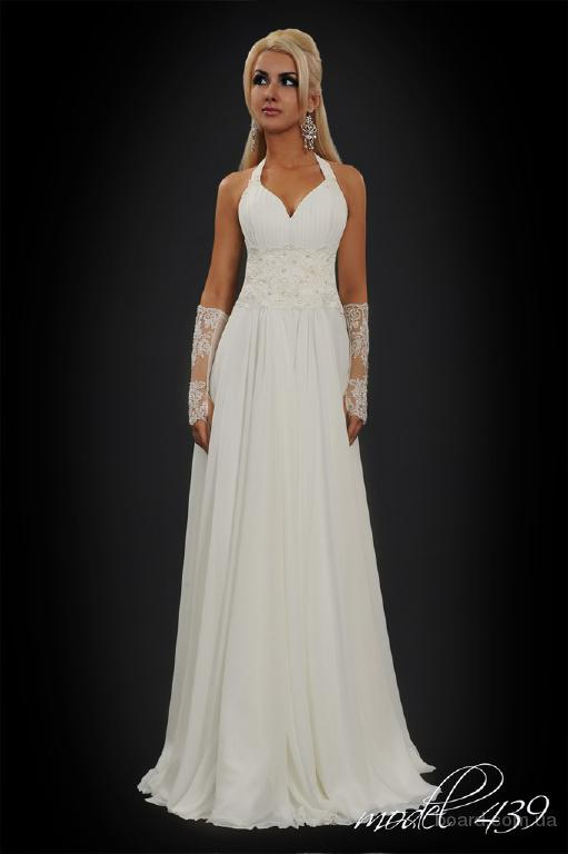 Новое свадебное платье в греческом