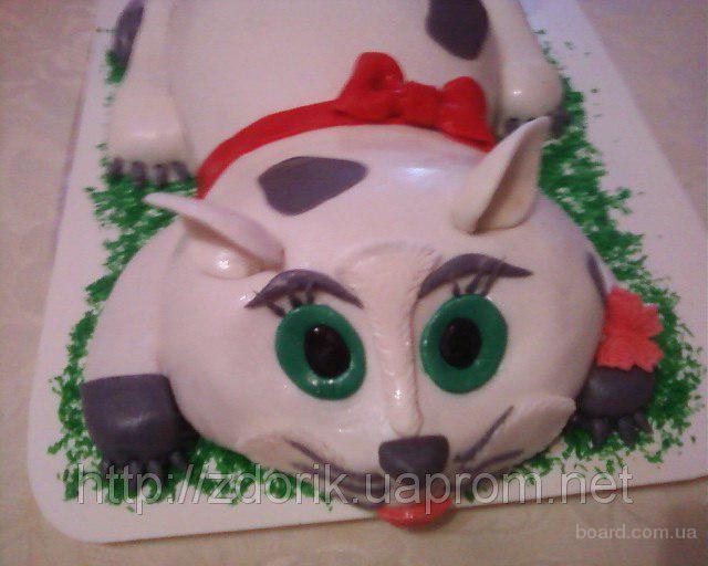 "Торт на 1-н год мальчику "" Кот с мышками"""
