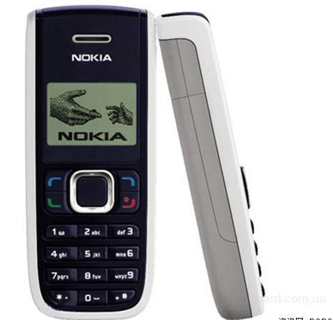 Коды для мобильных телефонов Nokia.  Nokia-1255 CDMA.