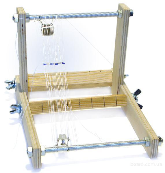 Станок и рамки для бисероплетения, вышивания крестиком, бисером - 6 моделей.