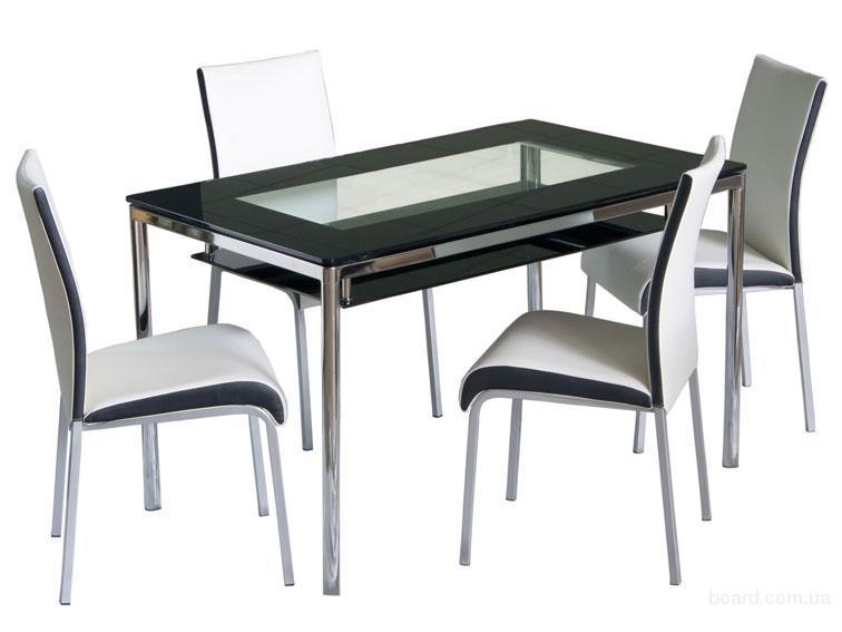 Кухонные столы черный цвет