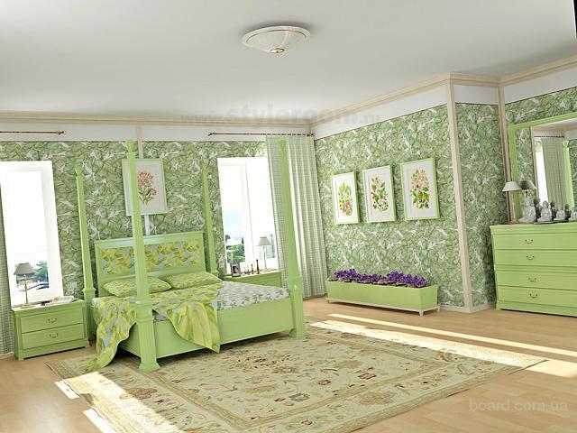 интерьер обои комнаты фото