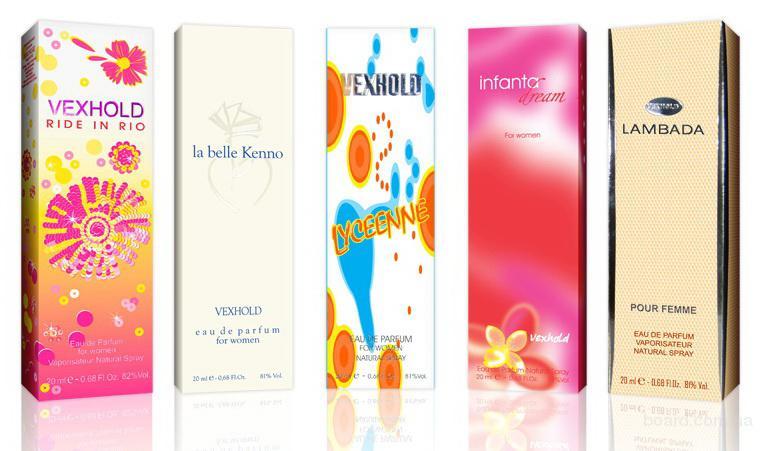 Упаковка для косметики и парфюмерии