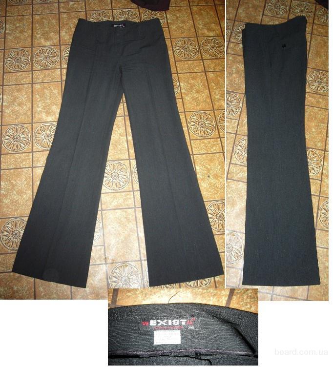 классические штаны черного цвета