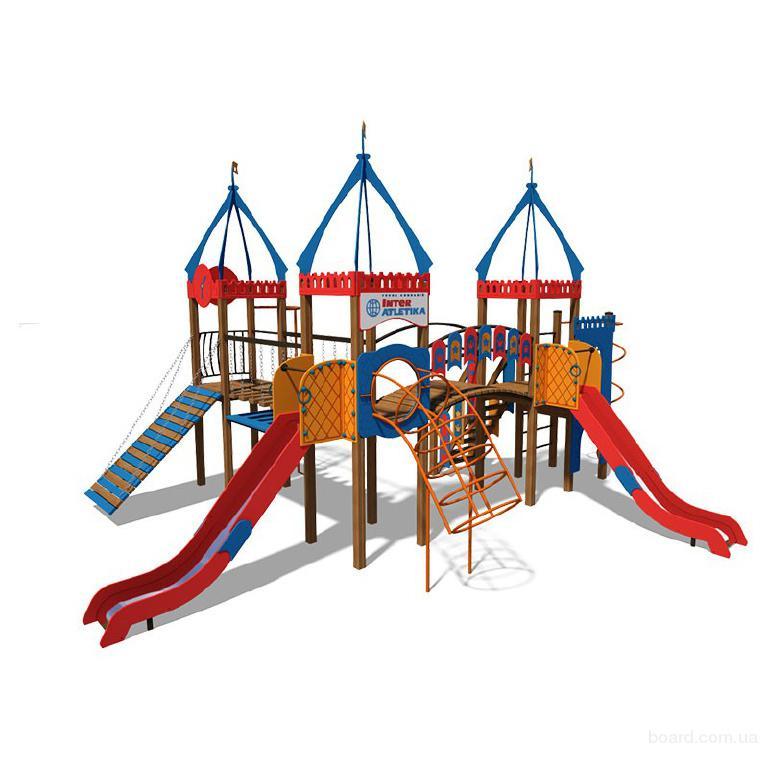 Игровые комплексы для детских площадок в Украине