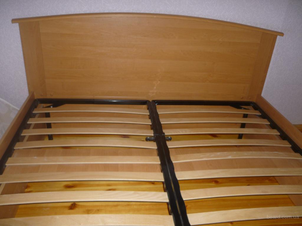 Двуспальная кровать + Матрас + Ламели продам в Винница, Украина. цена 1 700  (купить, куплю) - Мебель на consumer-commodities.bizator.ru