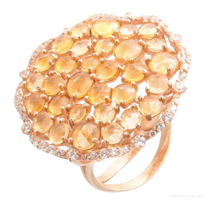 Золотые кольца в ювелирном магазине TopGold с доставкой по Украине
