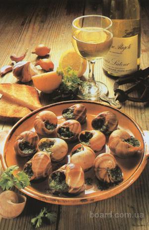 Поставляем виноградную улитку специального сорта Helix pomatia для ресторанов и всех желающих!