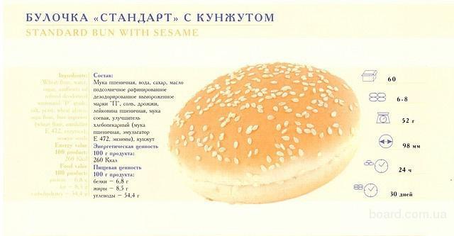 Булочки для гамбургеров рецепт как в макдональдсе рецепт